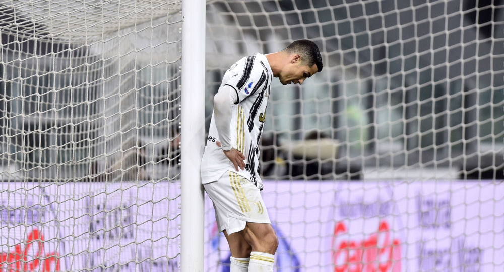 Soccer Football - Serie A - Juventus v Spezia - Allianz Stadium, Turin, Italy - March 2, 2021 Juventus' Cristiano Ronaldo looks dejected during the match
