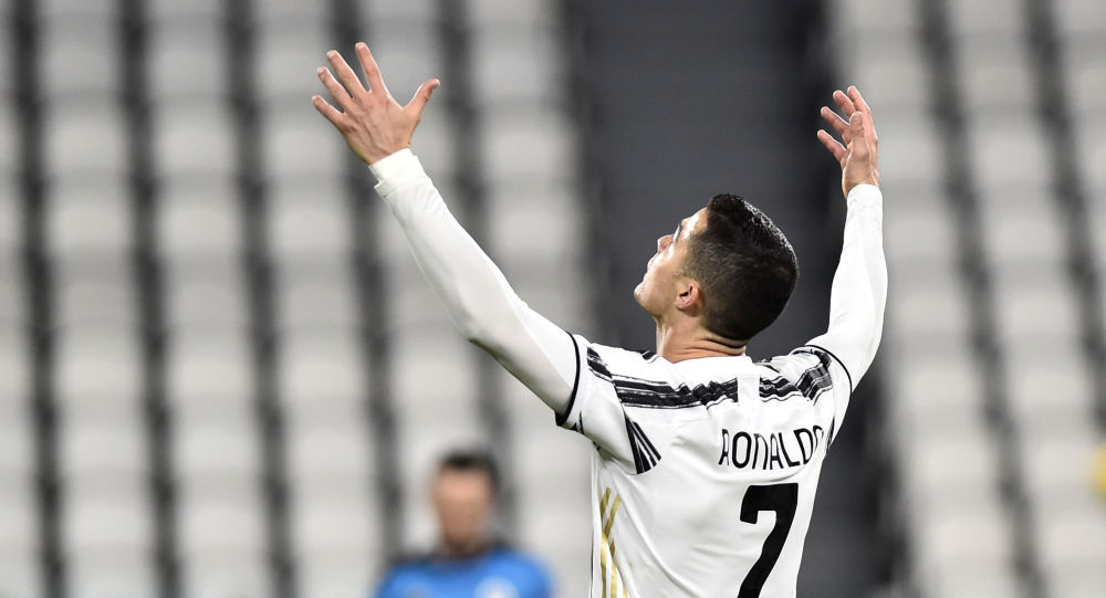 Soccer Football - Serie A - Juventus v Spezia - Allianz Stadium, Turin, Italy - March 2, 2021 Juventus' Cristiano Ronaldo reacts