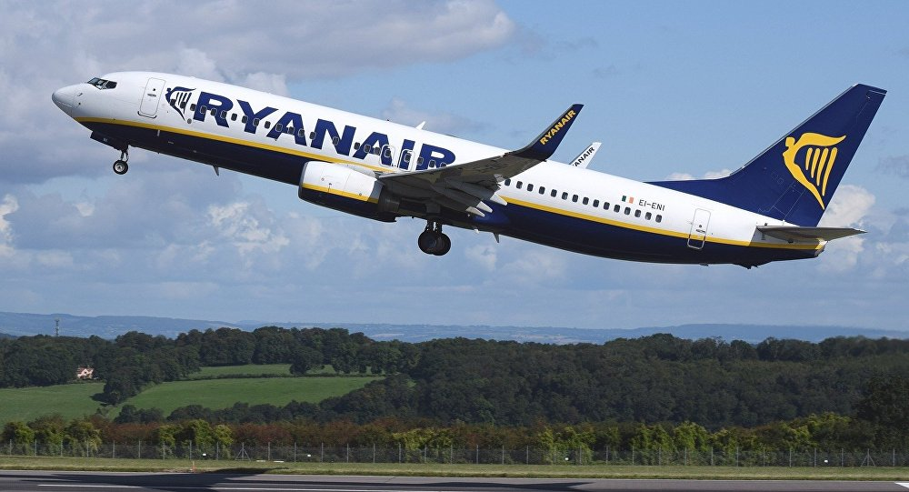Irish Ryanair airline