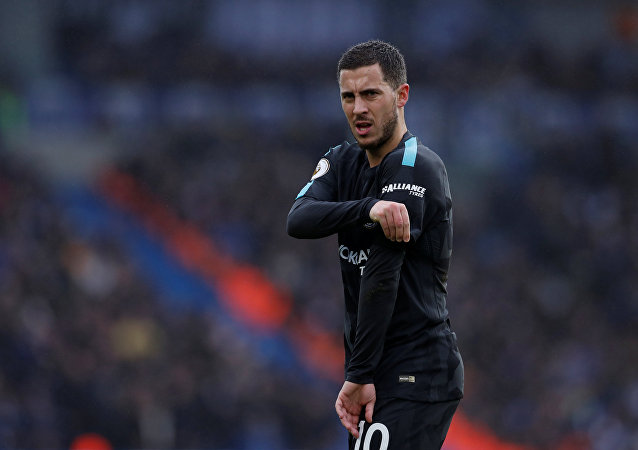 Soccer Football - Premier League - Brighton & Hove Albion vs Chelsea - The American Express Community Stadium, Brighton, Britain - January 20, 2018 Chelsea's Eden Hazard