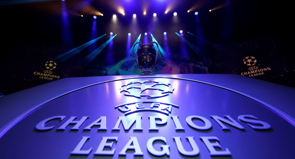 Soccer Football - Champions League Group Stage draw - Grimaldi Forum, Monaco - August 29, 2019   General view of the Champions League trophy on display before the draw
